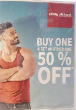Kauf eins und erhalte 50% auf das zweite!!!!