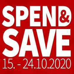 SPEND & SAVE VERLÄNGERT BIS EINSCHLIEßLICH 25.11.20