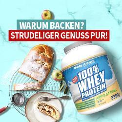 Neuer Geschmack: 100% Whey in Apfelstrudel
