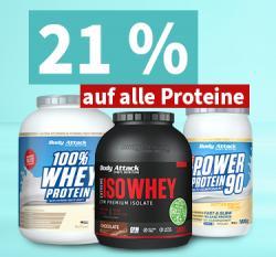 Heute schon geshaked? - 21% Rabatt auf Proteine