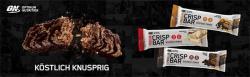 NEU !  NEW !  NUEVO ! Crispy Protein Bar