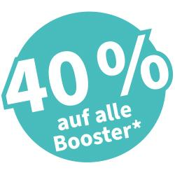 +++ BOOSTER -40% +++