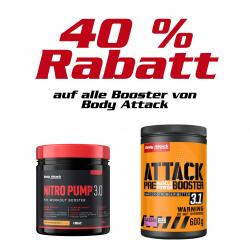 40% Rabatt auf Pre-ATTACK 3.1 und Nitro Pump 3.0!